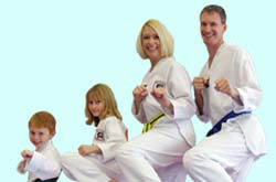 Get involved in the martial arts with your entire family