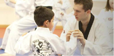 Adults and kids love Tae Kwon Do for its physical fitness