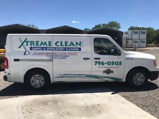 Xtreme Clean Carpet Cleaning Van