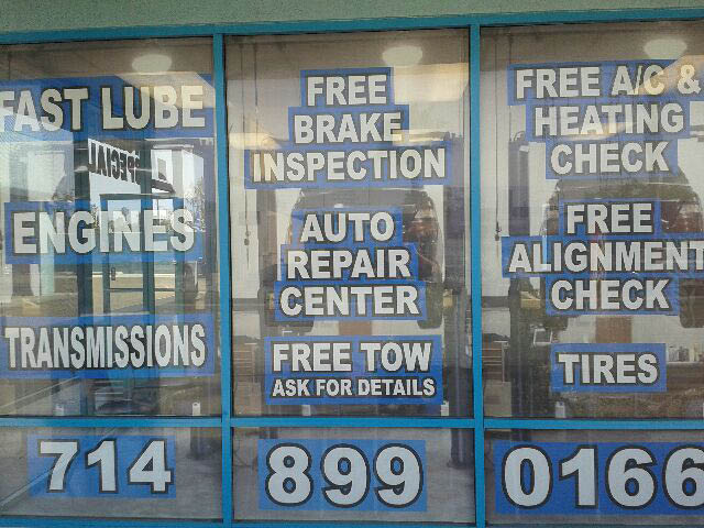 Xpress Auto Service, Westminster, Brake Inspection CA