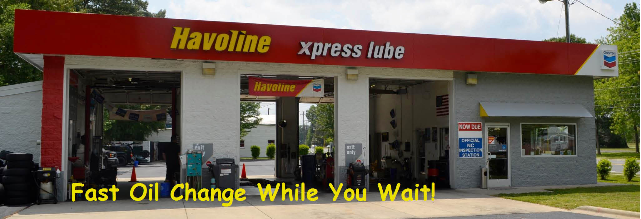 Havoline Xpress Lube in Charlotte, NC banner