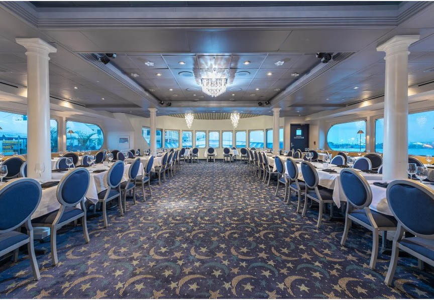 YACHT STARSHIP YACHT STARSHIP BOAT DINNER ROOM, CLEARWATER,TAMPA, FL