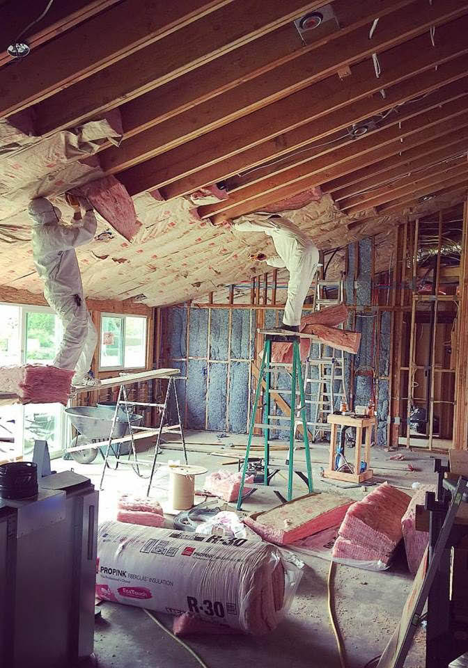 Attic insulation installers from Y&S Home Builders in West Hills, CA