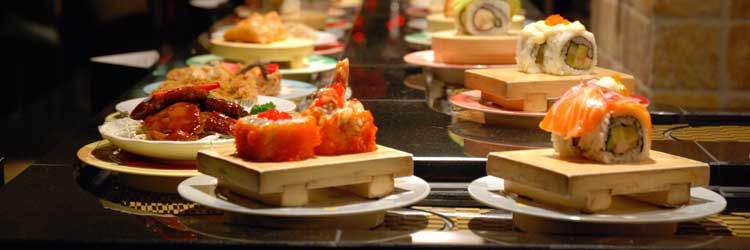 Yo! Zushi - formerly Genki Sushi - conveyor belt sushi - Capitol Hill - Seattle, WA