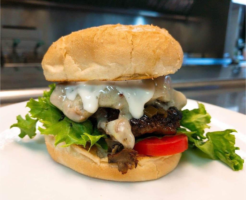 Yo Mamma's burger