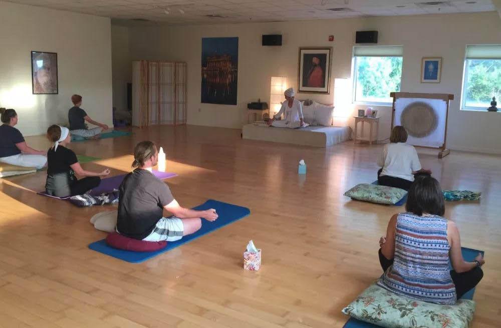 Raj Yoga, Yoga class, breathing, chanting, meditation, Sterling, VA