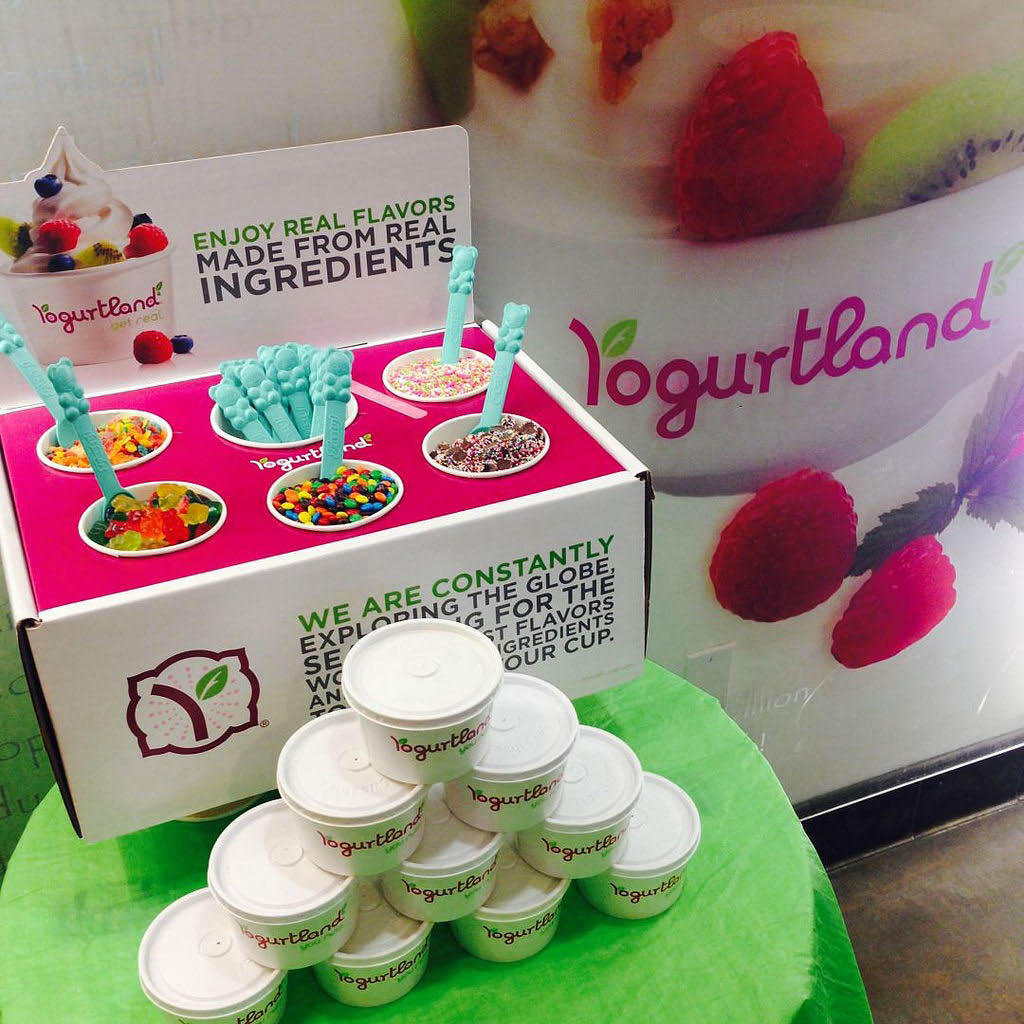 Catering available from Yogurtland in Denville NJ