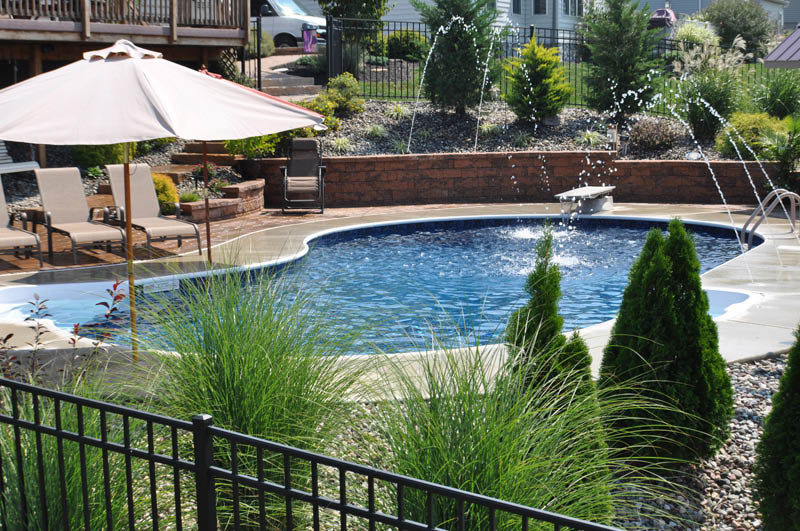 Yorktown Pools, Swimming, Pool, House, Family, Fun, Spas, Hot Tubs