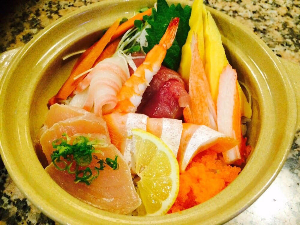 Get a hot plate and other Japanese food near The University of California San Diego