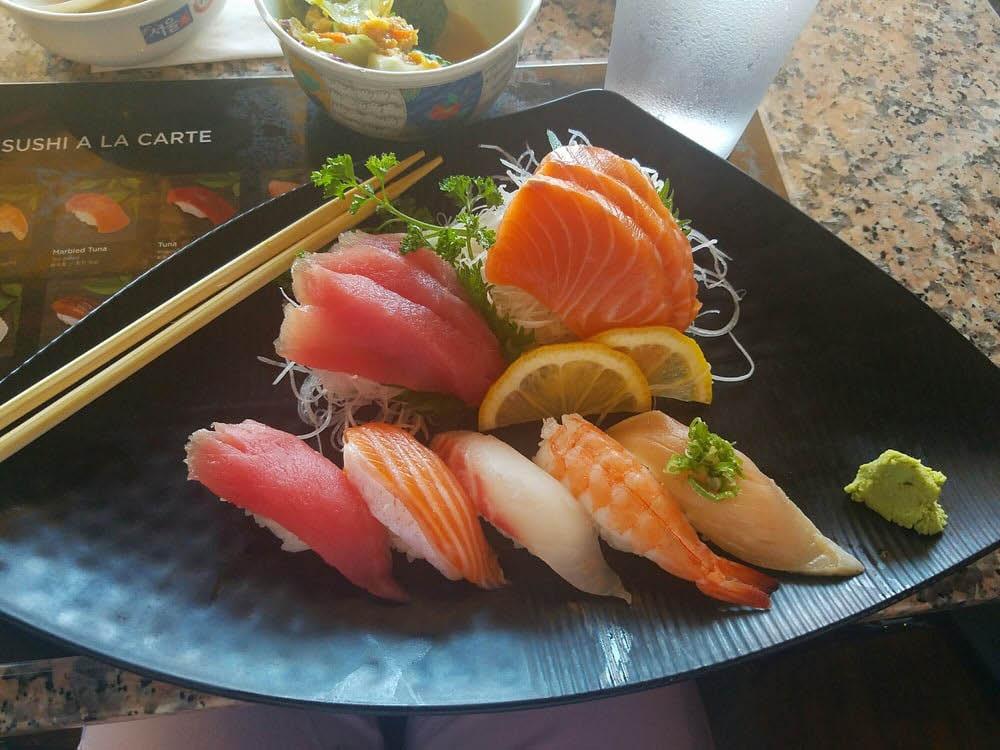 Get sushi and sashimi near Poway