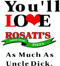 Rosati's Authentic Chicago Style Pizza near Muskego WI offers Sandwiches, Vegetarian, Non-smoking, Delivery pizza, or carry out Italian food.