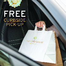 Your CBD now offers curbside pick up