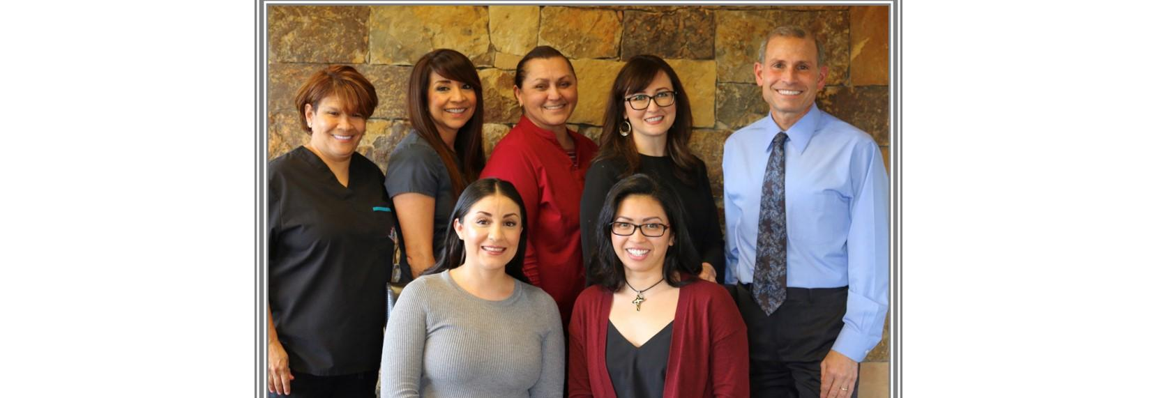 The dentist and staff of  Your Family Dentist in Santa Rosa, CA