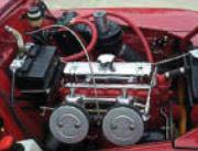 photo of engine restored by ZA Auto Collision, Restoration & Detail in Redford, MI