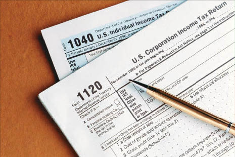 1040 individual tax form preparation for individuals, married or businesses.