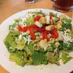 Try one of Zeeks salads with a slice of cheese pizza - Kirkland, WA - Bellevue, WA