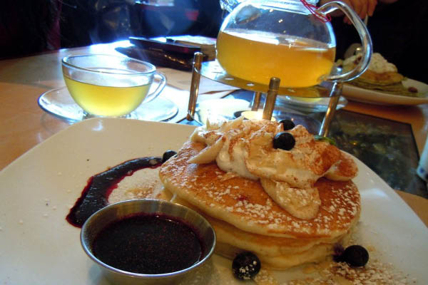 Zen Cha Cafe & Tea, pancakes