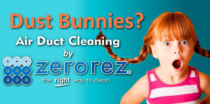 Dust bunnies? Try our air duct cleaning service