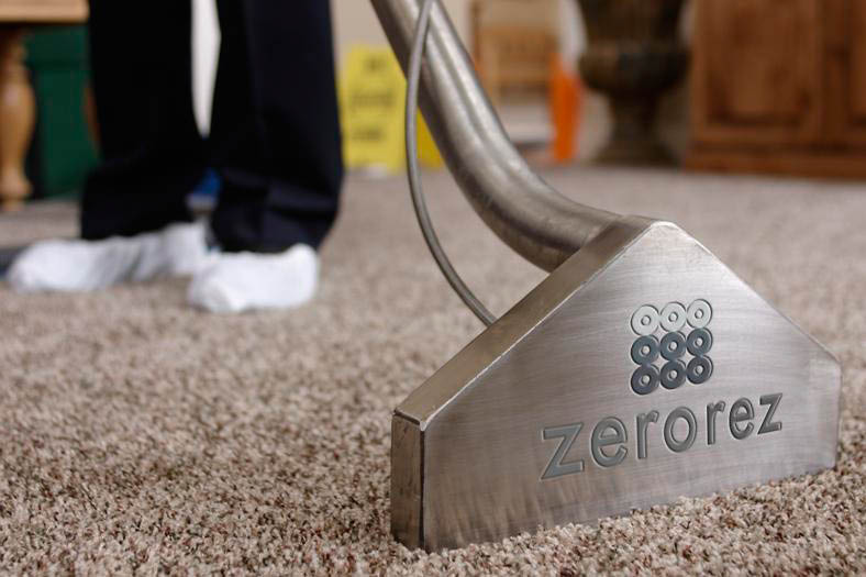 Zerorez Empowered Water Carpet Cleaning