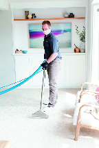 zerorez carpet cleaning technician