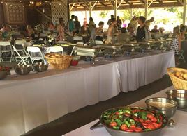 photo of banquet catered by Zio's Catering in Washington Twp, MI