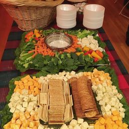 photo of catering tray from Zio's Catering in Washington Twp, MI