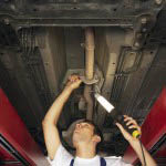 Zipin Out Auto Service in Campbell, CA will inspect your undercarriage