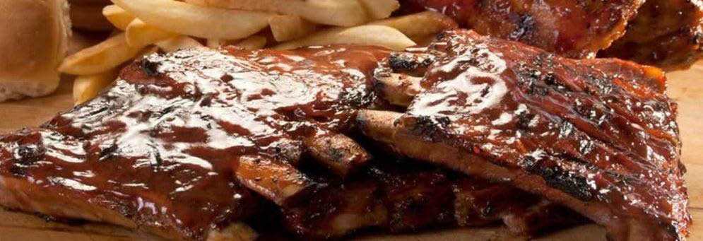 photo of mouth-watering ribs from Zukin's Rib Shack in Livonia, MI