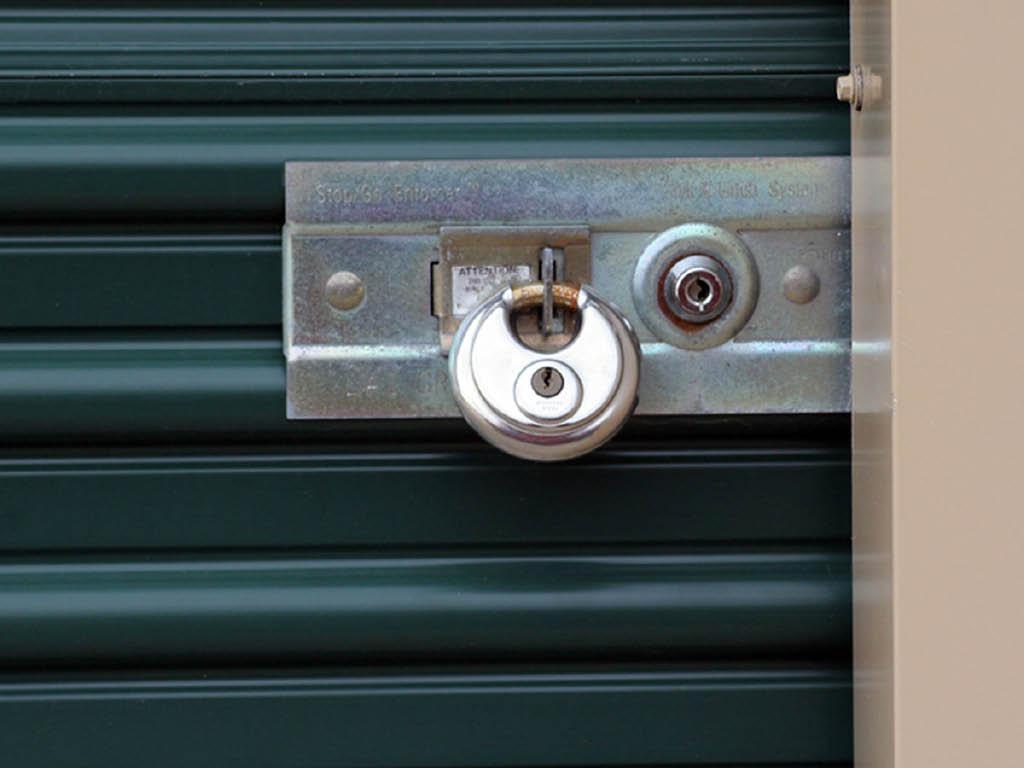 A+ Self Storage locker