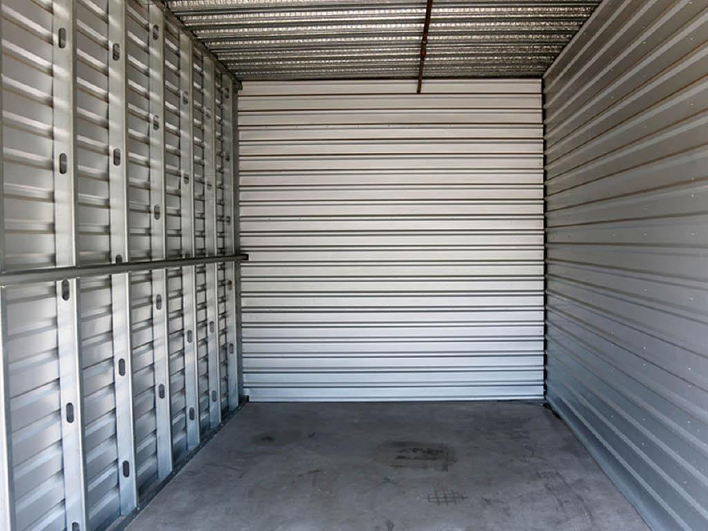 A+ Self Storage inside units