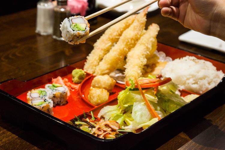A1 Sushi Bento box