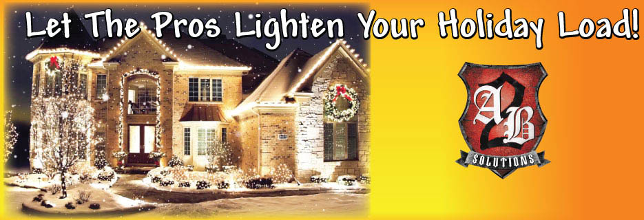 A2B Solutions - Holiday Lighting Services