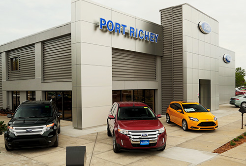 ford of port richey, fl street view