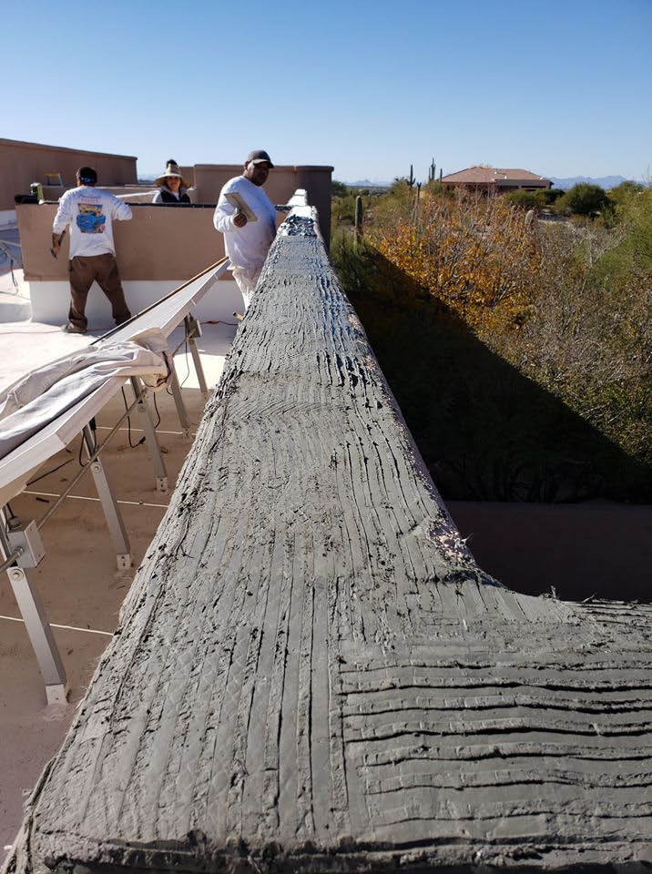 Stucco patching near Tucson