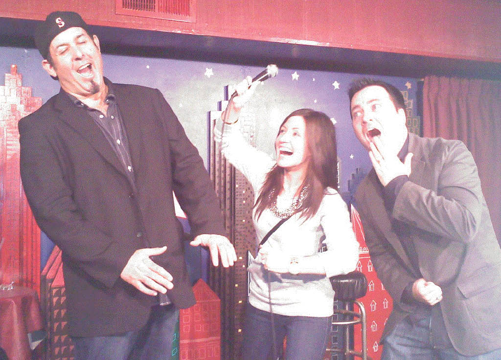 Ann Arbor Comedy Showcase Comedian with Shannon & Spike from Mojo in the Morning
