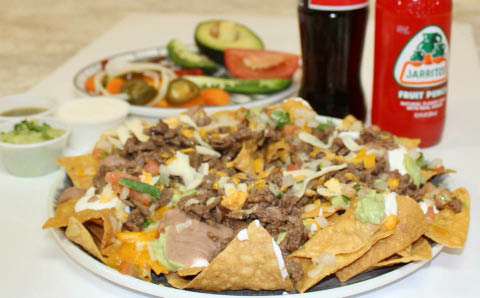 shareable nachos abelardo's mexican fresh omaha, ne