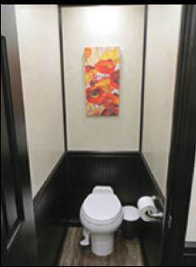restroom, septic, trailer
