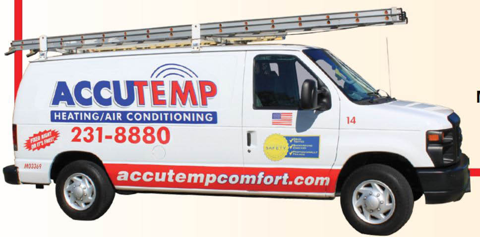 AccuTemp HVAC technicians in provide quality heating and cooling service in the Louisville, KY area.