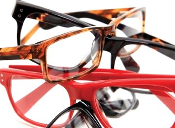 Fashionable eye wear and eyeglasses