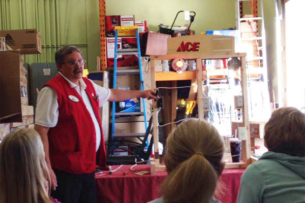 Ace Hardware teaches you how to DIY.