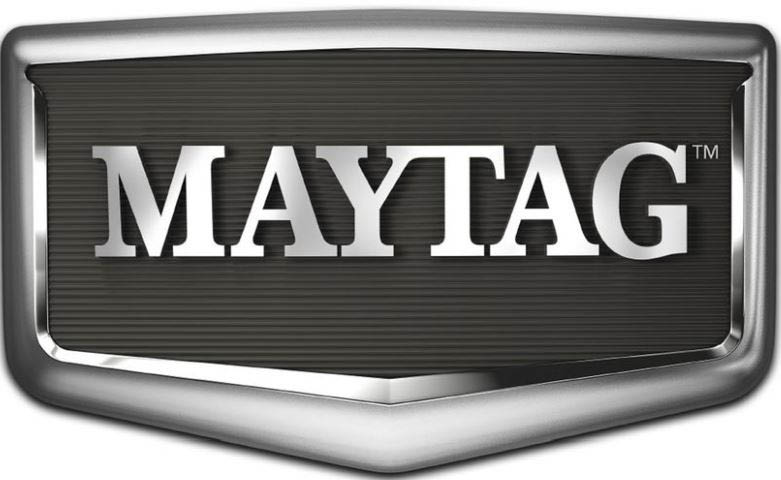 Maytag logo - We service and sell many brand name parts and accessories