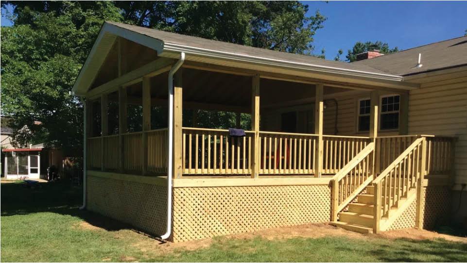 ace fence decks patios back deck