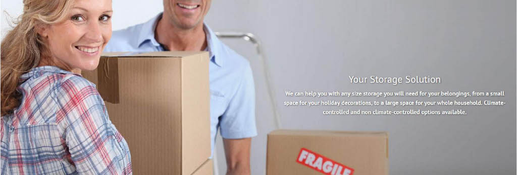 We have moving and packing materials