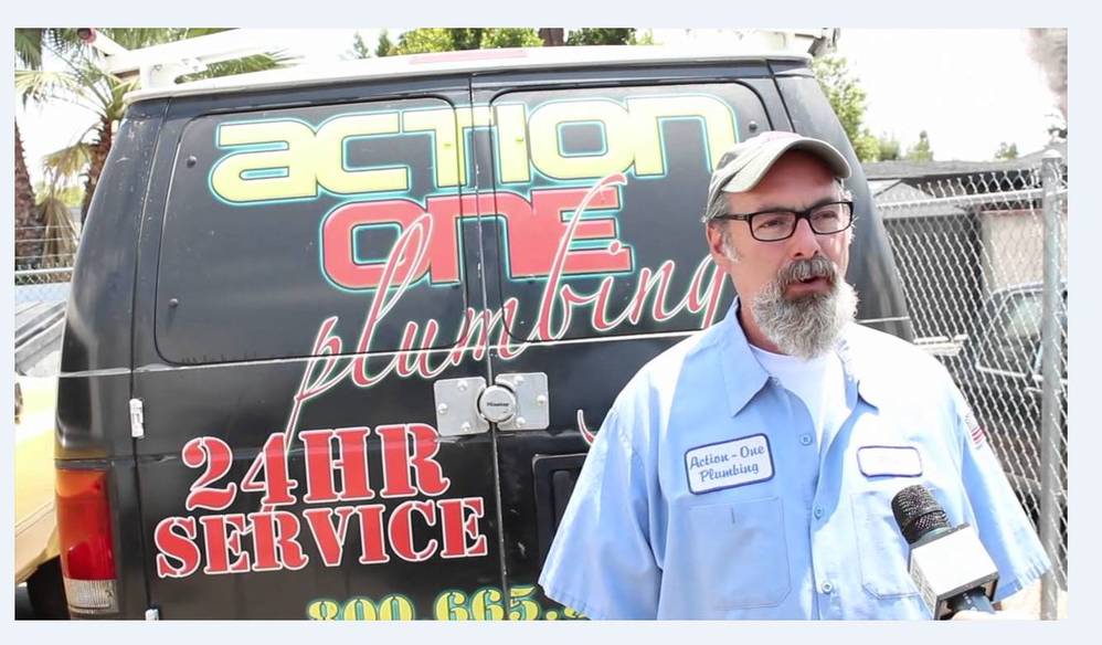 Action One Plumbing provides 24 hour emergency plumbing services Burbank