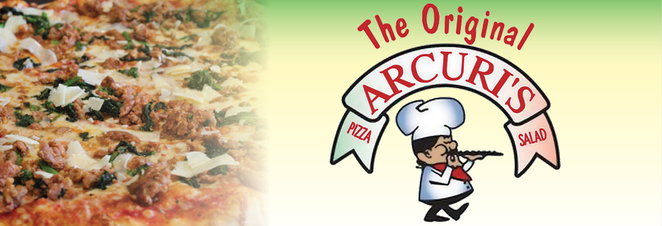 Arcuri's Pizza Greenwich CT banner image