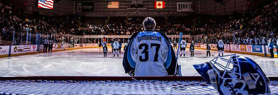 Picture of Milwaukee Admirals banner in Milwaukee, WI