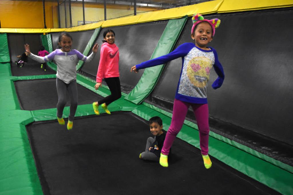 adventure zone indoor trampoline park, gaithersburg md