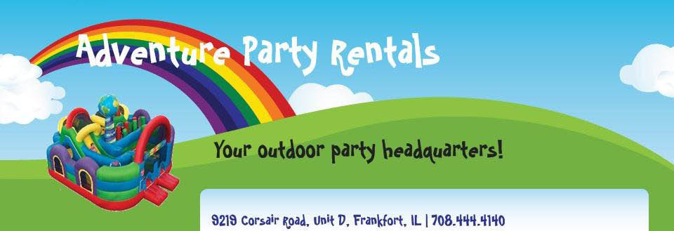 Your outdoor party headquarters, Adventure Party Rentals has new inventory for 2018.