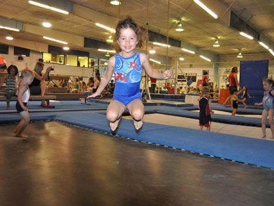 Aerials Gymnastics Colorado Springs trampoline