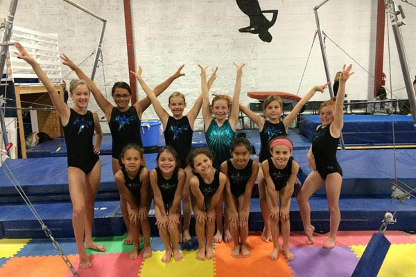 Aerials Gymnastics Colorado Springs team